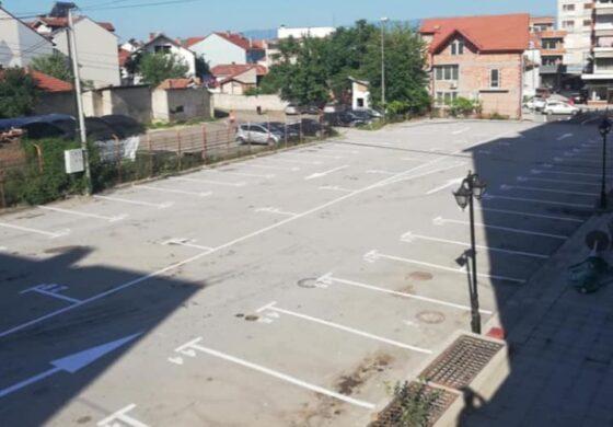 Наскоро нов паркинг простор во центарот на Куманово (ФОТО)