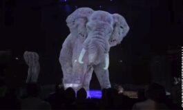 ВИСТИНСКИ СПЕКТАКЛ: Циркус кој наместо животни користи холограм (ВИДЕО)