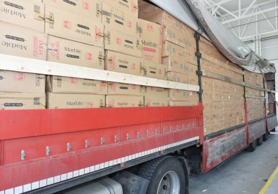 На Табановце запленети 16,5 тони цигари (ФОТО)