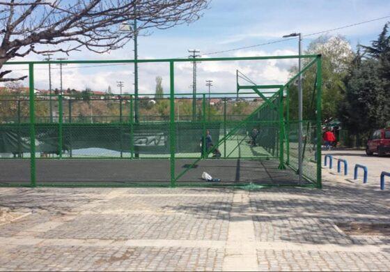 КК Куманово и група ентузијасти го поправија вандализираниот кош кај Спортската сала