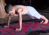 Шестгодишно момче направи 4.445 склекови и освои стан за семејството (ВИДЕО)