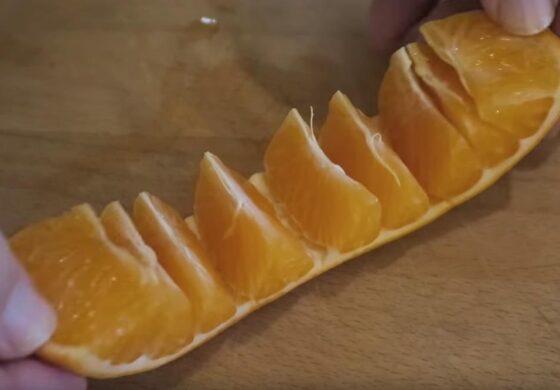 Два моќни трикови за лупење портокал кои ќе ве воодушеват (ВИДЕО)
