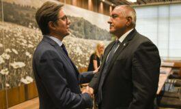 Средба на претседателот Пендаровски со бугарскиот премиер Борисов (ФОТО)