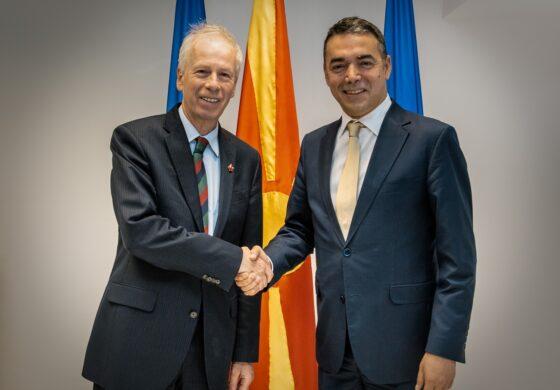 Димитров се сретна со специјалниот пратеник на Премиерот на Канада за ЕУ и Европа