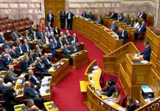 Грчкиот парламент ја поддржа економската политика на Владата