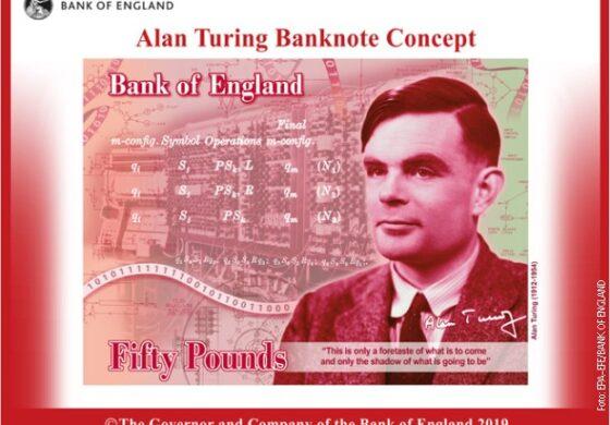 Човекот кој го задолжи човештвото, сега на банкнотата од 50 фунти