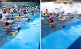 Цунами среде базен: Повредени 44 лица (ВИДЕО)
