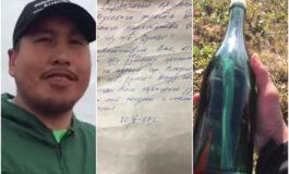 Американец на Алјаска пронајде порака во шише напишана на руски, побара помош да ја прочита, а потоа следуваше шок (ВИДЕО)