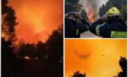 Грција повторно во пламен, премиерот го прекина одморот (ВИДЕО)