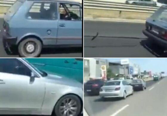 """Се зборуваше дека """"Југо"""" а нејлошиот автомобил, но по оваа снимка ќе го смените мислењето (ВИДЕО)"""