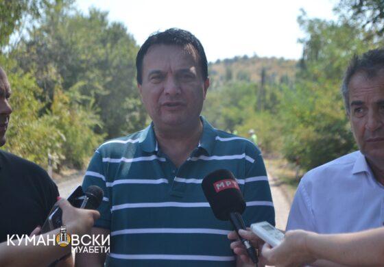 Сугарески: Во Куманово се работи интензивно на сите патни правци (ФОТО)