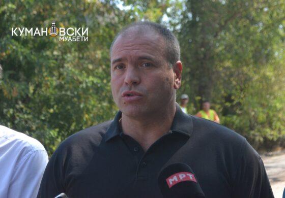 Димитриевски: Македонија му се одолжува на Куманово преку Владата и ги охрабрувам да продолжат така (ФОТО)