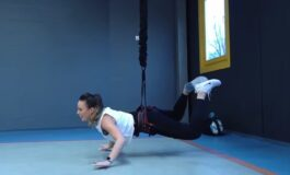 БАНЏИ ФИТНЕС: Одите по ѕидовите, и пркосите на гравитацијата, се забавувате и слабеете (ВИДЕО)