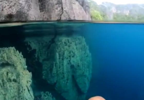 ВИСТИНСКИ РАЈ: Оваа вода е толку проѕирна што изгледа дури нереално (ВИДЕО)