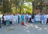 Протестираа лекарите во кумановската болница (ФОТО)