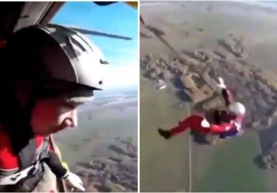 Руски падобранец загина при скок од хеликоптер, не му се отвори ниту еден падобран