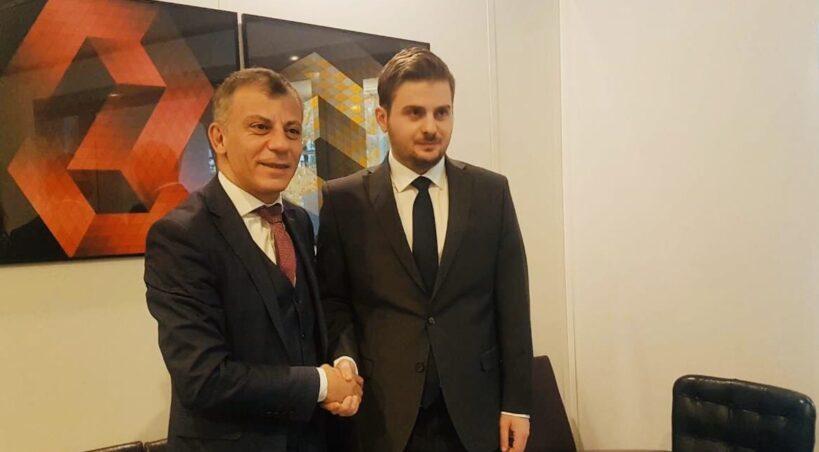 Средба на министрите Адеми и Цакај: Потврдени заложбите за заедничка прекугранична соработка