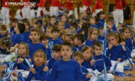 Најмалите го прославија 500-годишниот јубилеј на Куманово (ФОТО)