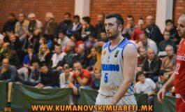 КК Куманово без сили за Кожув
