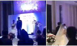 Младоженецот среде свадба пушти се*с видео од неговата сопруга и друг маж (ВИДЕО)