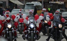 """""""Дедо мраз на мотор"""" повторно ја внесе новогодшната магија (ФОТО)"""