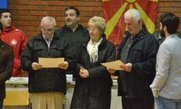 Благодарници за поранешните мајстори на кошарката во Куманово (ФОТО)