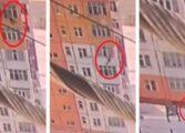 ЧУДО ВО СИБИР: Жена паднала од 9. кат, стана и замина! (ВОЗНЕМИРУВАЧКО ВИДЕО)